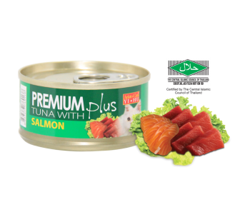 Aristo-Cat ® Premium + Cat Canned Food Tuna with Salmon 80g
