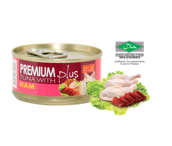 Aristo-Cat ® Premium + Cat Canned Food Tuna with Chicken Ham 80g