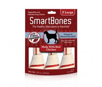 SmartBones Chicken Large - 3pcs