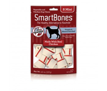 SmartBones Chicken Mini - Available in 8pcs & 30pcs