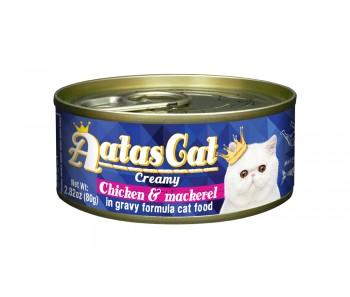 Aatas Cat Creamy Chicken & Mackerel 80g