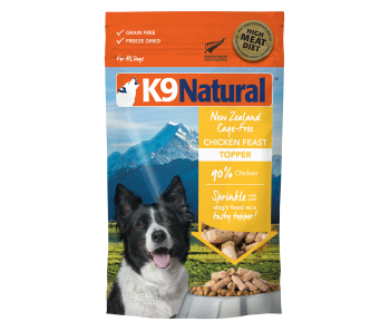 K9 Natural Freeze Dried Chicken Topper 142g