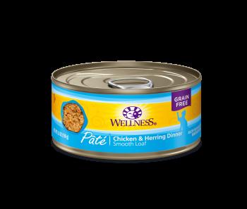 Wellness Cat Canned Complete Health™ Pâté Chicken & Herring  5.5oz