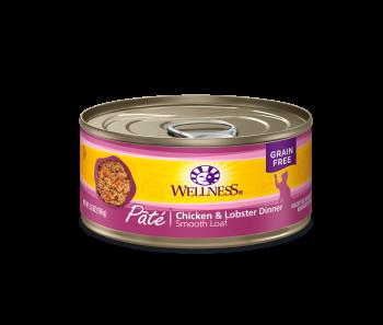 Wellness Cat Canned Complete Health™ Pâté Chicken & Lobster  5.5oz