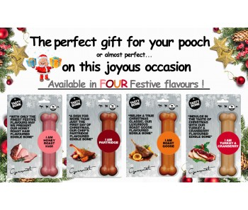 Buy 2 for $19.90 - TastyBone Christmas Flavours