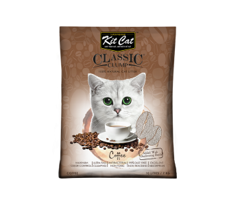 Kit Cat Classic Clump Coffee Cat Litter 10 L/7 kg
