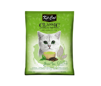 Kit Cat Classic Clump Green Tea Cat Litter 10 L/7 kg