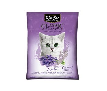 Kit Cat Classic Clump Baby Powder Lavender 10 L/7 kg