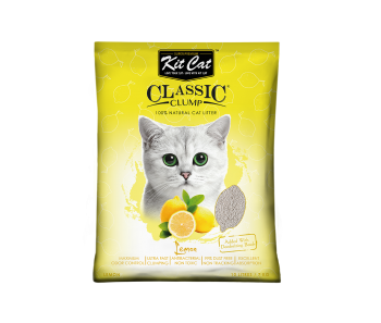 Kit Cat Classic Clump Lemon Cat Litter 10 L/7 kg
