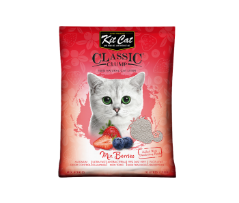 Kit Cat Classic Clump Baby Powder Mix Berries 10 L/7 kg