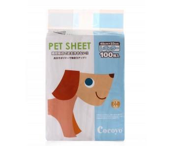 COCOYO PEE PAD PET SHEETS 45X33CM - 100pcs