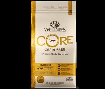 Wellness Cat Core® Indoor Deboned Chicken, Turkey & Chicken Meals - Available in 2lbs, 5lbs & 12lbs