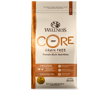 Wellness Cat Core® Original Deboned Turkey, Turkey Meal & Chicken Meal - Available in 2lbs, 5lbs & 12lbs