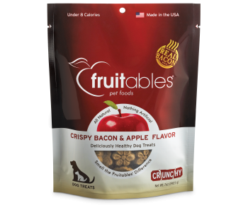 Fruitables Crispy Bacon & Apple Dog Treats 200g