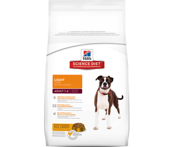 Science Diet Canine Adult Light - Available in 3kg & 15kg