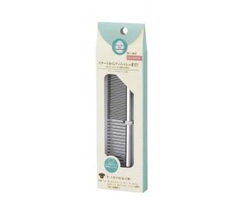 Marukan 2-Way Metal Comb Medium