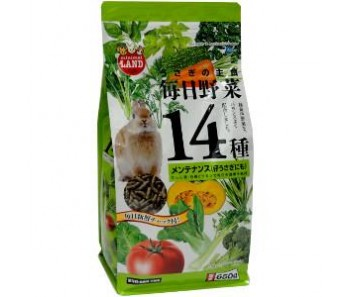 Marukan Daily Veggies 14 Maintenance for Rabbit 650g [ML31]