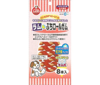 Marukan Lamb Petit Roll Gum 8pcs/pack [DF83]