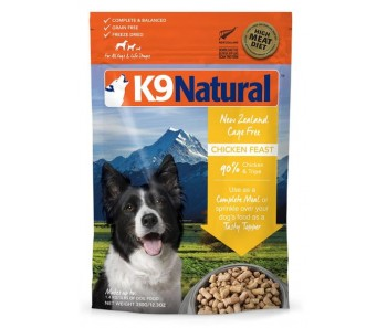 K9 Natural Freeze Dried Chicken Feast - Available in 350g & 1.8kg
