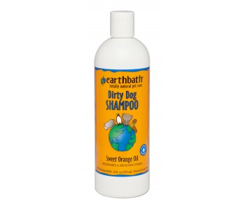 Earthbath Shampoo Dirty Dog Sweet Orange Oil - Available in 16oz & 1 Gallon