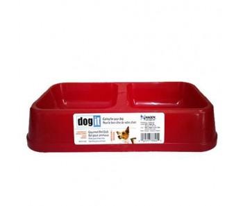 Dogit Gourmet Lightweight Double Dish