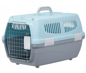 Marukan 2 Door Carry for Dogs & Cats - Available in Blue, Pink & Brown