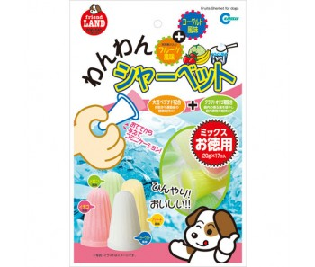 Marukan Fruits & Yogurt Sherbet for Dogs 20g x17 [DP823]