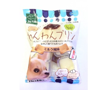 Marukan Milk Pudding Jelly For Dogs (25g x 6pcs) [DP826]