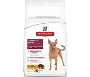 Science Diet Canine Adult Advanced Fitness Original - Available in 4kg, 9.75kg & 15kg
