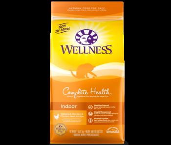 Wellness Cat Complete Health Indoor Deboned Chicken & Chicken Meal - Available in 5lbs & 11lbs