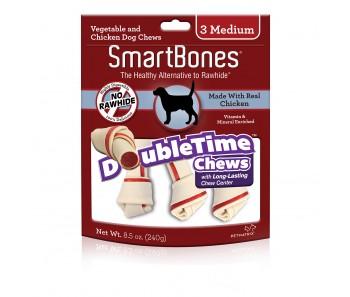 SmartBones Double Time Bones Medium - 3pcs