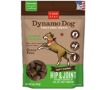 Cloud Star Dynamo Dog Chicken Formula Hip and Joint Soft Chews 5oz