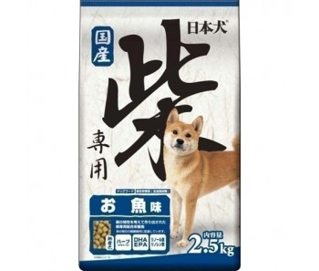 Yeaster Shiba Fish Inu All Life Stages 2.5kg