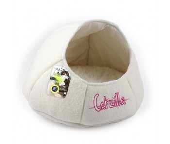 All For Paws - Catzilla Nest Cat Bed White