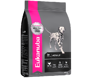 Eukanuba Chicken Adult Medium Breed - Available in 3kg, 9kg & 15kg