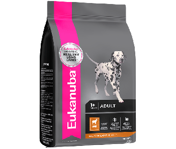 Eukanuba Lamb & Rice Adult Small & Medium Breed 12kg