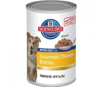 Science Diet Canine Canned Senior Chicken Entrée 13oz