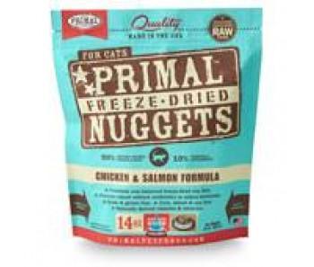 Primal Freeze-Dried Feline Chicken & Salmon Formula - 14oz