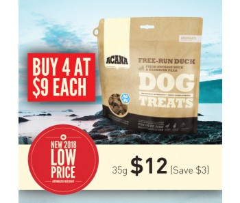 Acana Freeze Dried Singles Treats - Free-Run Duck - 35g