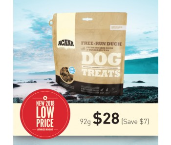 Acana Freeze Dried Singles Treats - Free-Run Duck - 92g