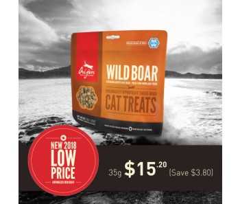 Orijen Freeze Dried Cat Treats - Wild Boar 35g