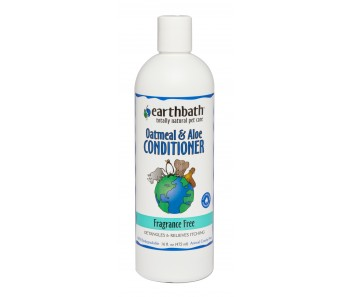 Earthbath Conditioner Oatmeal & Aloe Fragrance Free - Available in 16oz & 1 Gallon