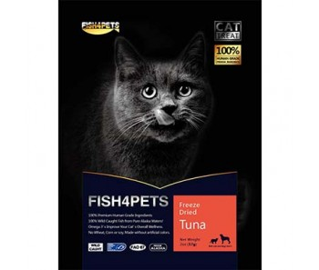 Salmon 4 Pets Freeze Dried Cat Tuna 57g