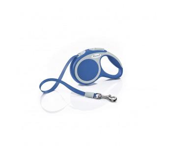 Flexi Vario Retractable Tape Leash Blue - 4 Sizes