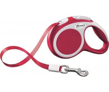 Flexi Vario Retractable Tape Leash Red - 4 Sizes