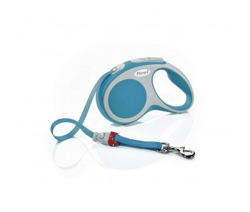 Flexi Vario Retractable Tape Leash Turquoise - 4 Sizes