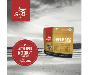 Orijen Freeze Dried Dog Treats - Free Run Duck - 42.5g