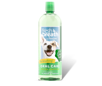 TROPICLEAN ORAL CARE WATER ADDITIVE FOR DOGS - 16oz