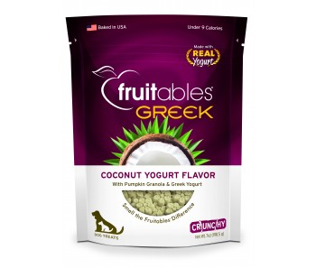 Fruitables Greek Coconut Yogurt Dog Treats 200g