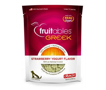 Fruitables Greek Strawberry Yogurt Dog Treats 200g